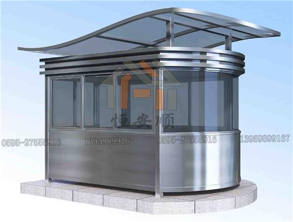 不锈钢椭圆岗亭的除锈方法说明