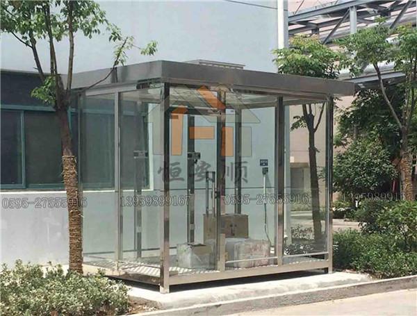 广场吸烟亭的环境卫生管理方法